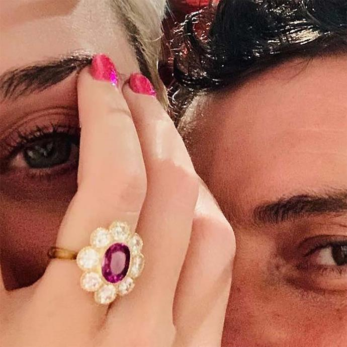 Katy Perry's ring.