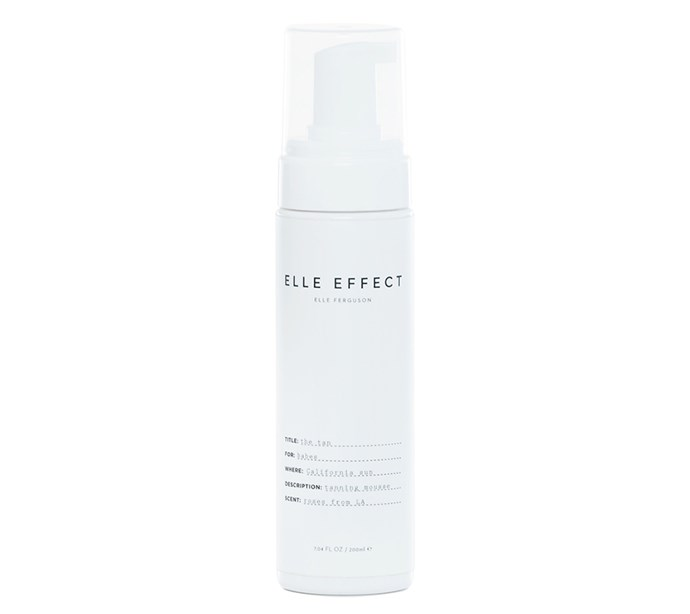 """I have used a whole lot of tanning products but this is by far is the best and it literally smells like roses.""*—Michelle Jackson, art editor* <br><br> [Elle Effect tan, $44.95](https://www.elleeffect.com/product/elle-effect-tan/