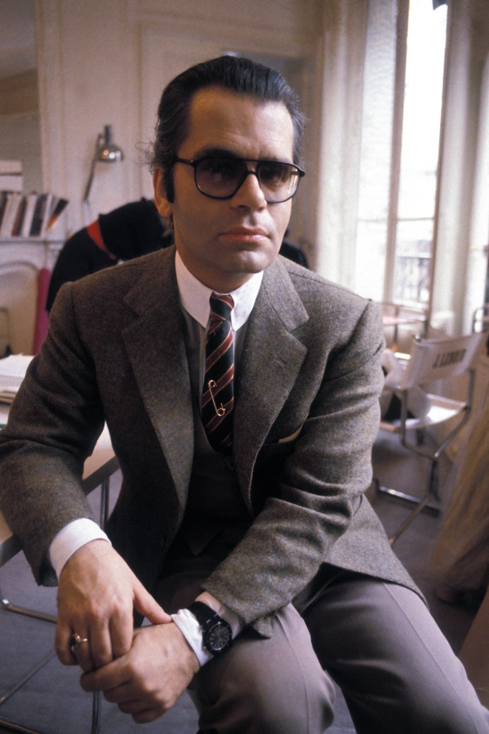 At his office in Paris in 1970.