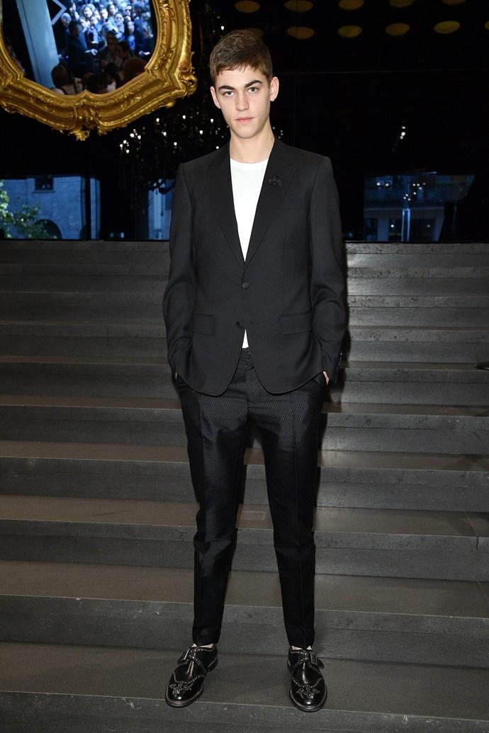 Hero Fiennes-Tiffin in September 2017.