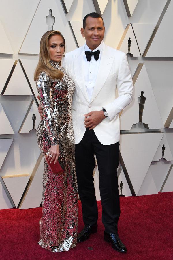 Reigning glam couple Jennifer Lopez and Alex Rodriguez.