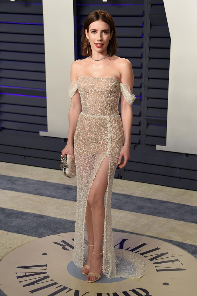 Emma Roberts.