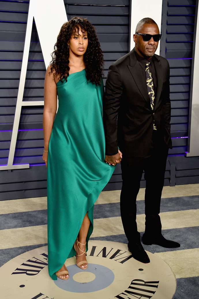 Sabrina Dhowre and Idris Elba.