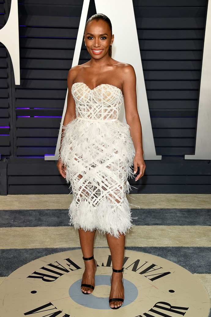 Janet Mock in Ralph & Russo.