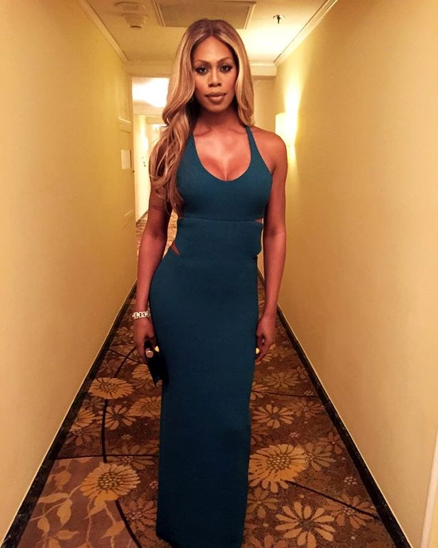 """***Laverne Cox*** <br> *Orange Is The New Black* actress Cox shared that she almost injured her foot giving Gaga and Cooper a standing ovation from her living room (relatable). <br><br>  She wrote on [Twitter](https://twitter.com/Lavernecox/status/1099869103802613761 target=""""_blank""""): """"Why am I trying to give a standing ovation in my apartment on my fractured foot after #LadyGaga and #BradleyCooper's performance of #Shallow at the #Oscars? Cause it was bonkers, beyond and insanely amazingly good. Though I applauded seated, the standing O was there in spirit."""""""