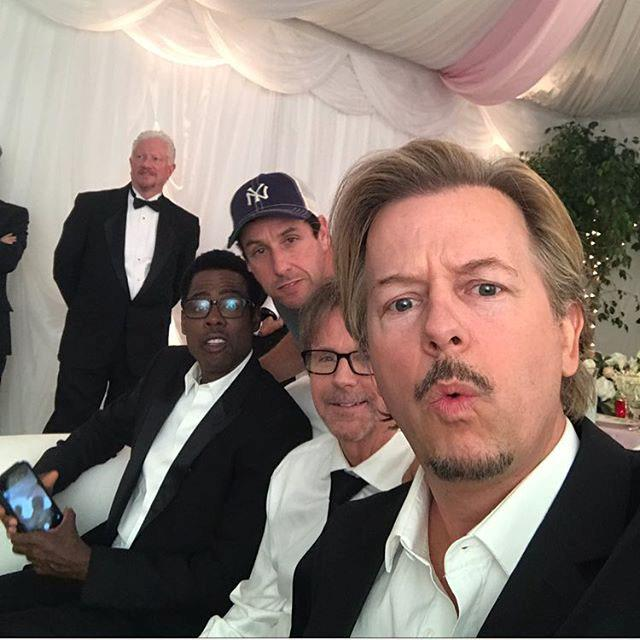 "***David Spade*** <br> Comedian David Spade's response to the performance was a lot more explicit and to-the-point. The *Grown Ups* actor (and brother-in-law of the late [Kate Spade](https://www.elle.com.au/fashion/media-negligence-kate-spade-death-17753|target=""_blank"")) posted a [tweet](https://twitter.com/DavidSpade/status/1099929332233920513