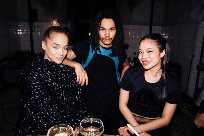 Jasmine Saunders, Luka Sabbat and Tiffany Meia