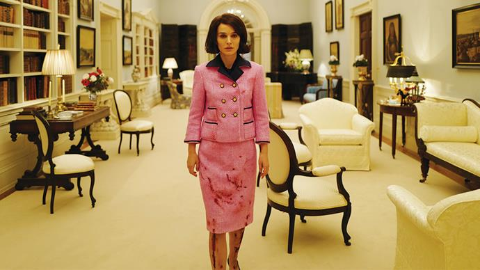 ***Jackie* (20/3/2019)** <br><br> Following the assassination of President John F. Kennedy, First Lady Jacqueline Kennedy (Natalie Portman) fights through grief and trauma to regain her faith, console her children, and define her husband's historic legacy.
