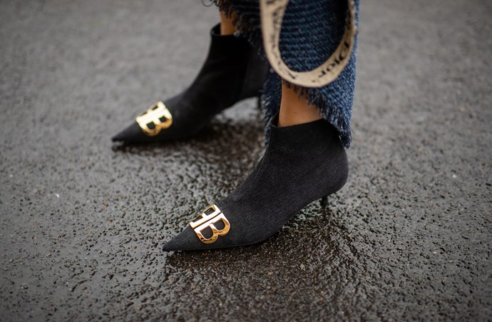 """**KITTEN HEELS** <br><br> Yes, they're still a thing, Gerona says. """"It's all about being sexy yet comfortable and you can achieve this effortlessly with a kitten heel,"""" she explains."""