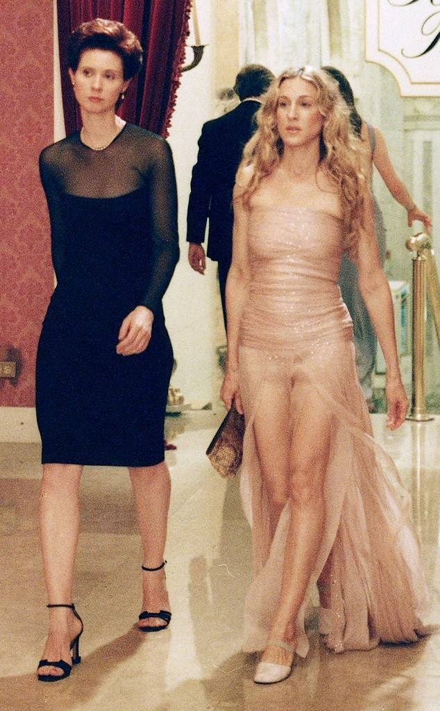 Who could forget the time she left Carrie's nude allure gown in the dust?