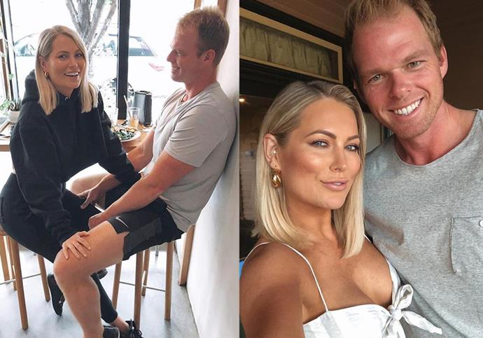 """**Keira Maguire and Jarrod Woodgate from *Bachelor In Paradise* season 1** <br><br> Maguire and Woodgate found their feet on previous seasons of *The Bachelor* and *The Bachelorette* (Maguire with Richie Strahan, and Woodgate with [Sophie Monk](https://www.elle.com.au/culture/sophie-monk-funny-moments-video-14461