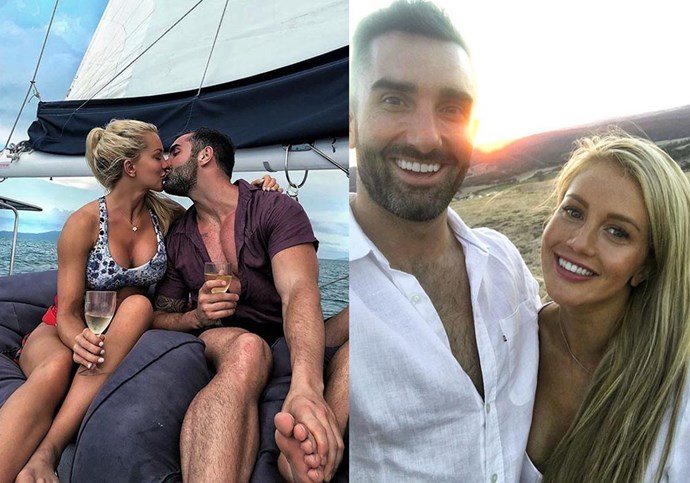 **Ali Oetjen and Taite Radley from *The Bachelorette* season 4** <br><br> Oetjen's season of *The Bachelorette* might have been the lowest-rating in the show's history, but at least she found love out of it—falling for Melbourne-based banker and personal trainer Taite Radley, who she's currently living with. <br><br> This coupling came after Oetjen failed to find love on Tim Robards' season of *The Bachelor* in 2013, as well as a short stint on *Bachelor in Paradise* in 2018.