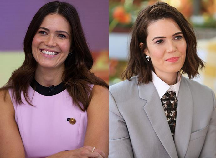 "**Mandy Moore:** The star of *This Is Us* traded her mid-length locks for the [cool-girl bob of 2019](https://www.elle.com.au/beauty/cool-girl-bob-2019-19975|target=""_blank""), nailing the of-the-moment styling with tousled, scrunched-up texture and shoulder-skimming strands."