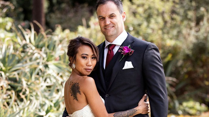"""**Ning and Mark: Maybe** <br><br> """"Trying their hardest. I really have to compliment Mark on how much effort he put into trying to be with Ning, who describes herself as 'damaged goods',"""" Otten says. """"The couple has not had sexual intimacy, and in many ways seem to be cohabiting comfortably, but the relationship seems far from passionate and more like troubled housemates."""""""