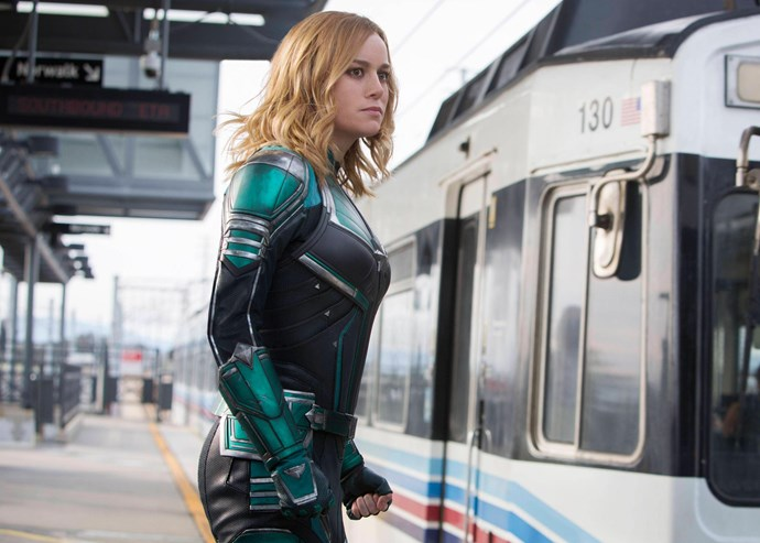 ***A significant cameo***<br><br> If you pay close attention to the subway scene (after Carol finishes beating up an old lady), you might notice a cameo from a very red-headed lady. This is Kelly Sue DeConnick, a comic book writer who is credited with writing and creating Captain Marvel as we know her today.