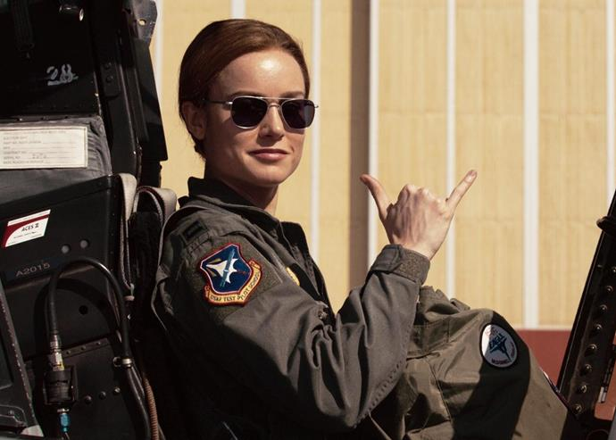 """***Captain Marvel?***<br><br> Just like in DC's *Wonder Woman*, throughout the film, no one actually calls Captain Marvel… Captain Marvel. In the beginning, she's """"Vers,"""" and then she's Carol and Fury briefly teases her as Marvel like the Marvelettes, but no one actually calls her 'Captain Marvel.' <br><br> Will this be a nickname she acquires in *Avengers: End Game*?"""