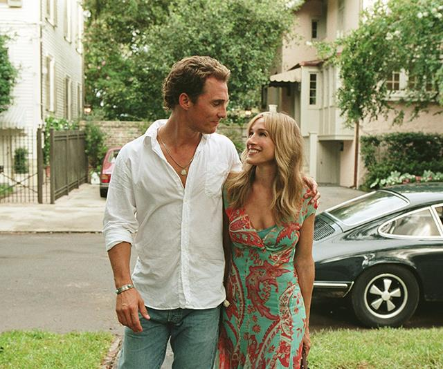 ***Failure To Launch:*** Matthew McConaughey stars as a man in his 30s who refuses to move out of his parents' home. Fed up, they hire a glamorous relationship consultant, played by Sarah Jessica Parker, to help him get a move on.