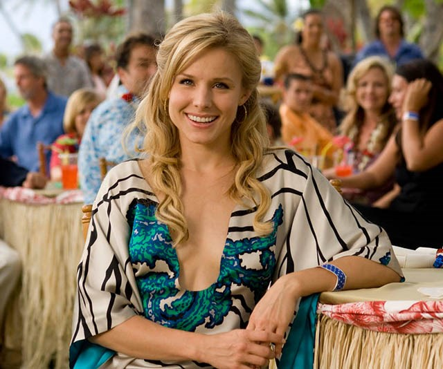 ***Forgetting Sarah Marshall:*** In order to get over his famous ex, Sarah Marshall, Peter (Jason Segel) takes a trip to Hawaii, only to bump straight into Sarah (Kristen Bell) and her new love interest, hilariously played by Russell Brand.