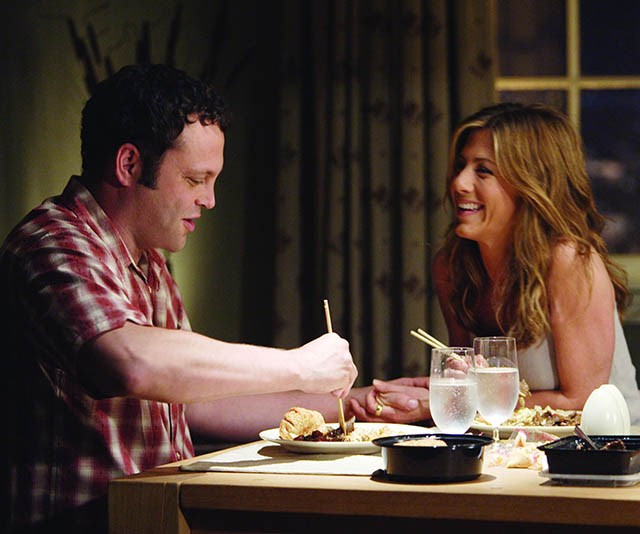 ***The Break-Up:*** Jennifer Aniston and Vince Vaughn play a couple in the midst of a nasty split, which becomes a turf war over their shared apartment.