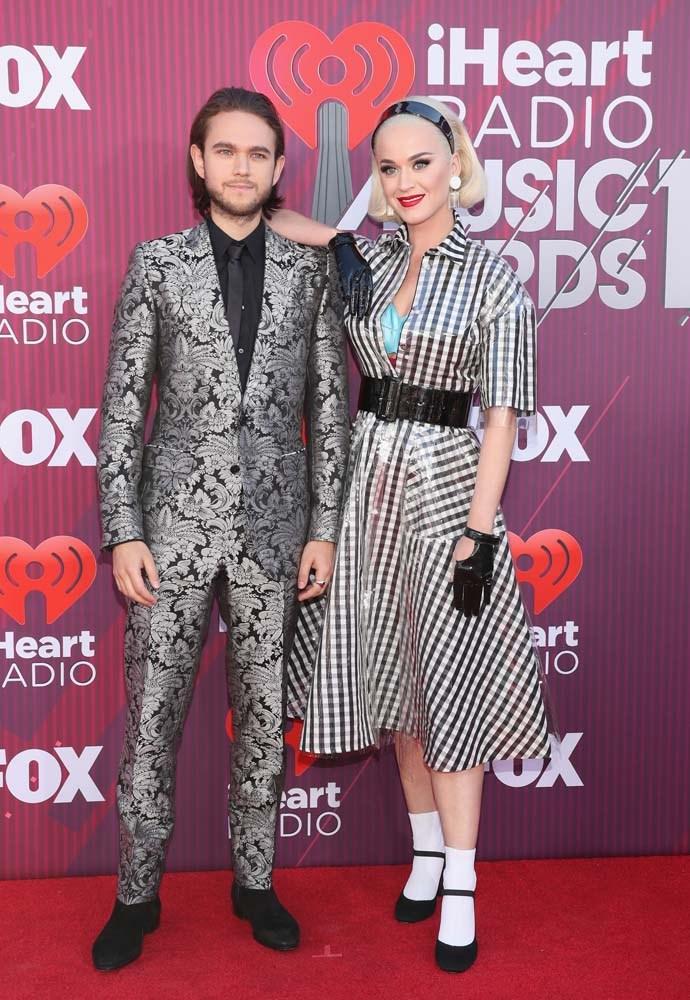 Zedd and Katy Perry.