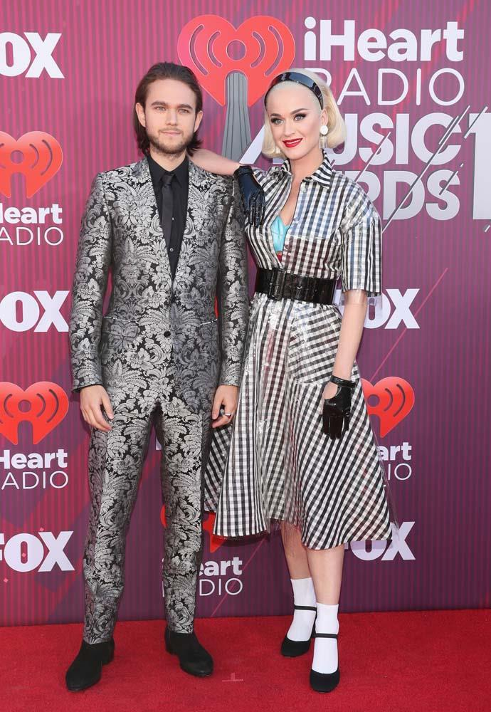 Zedd and Katy Perry.