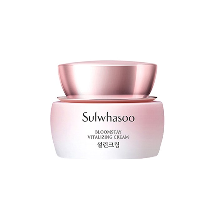 """***Sulwhasoo Bloomstay Vitalizing Cream***<br><br> This cream uses the anti-oxidant properties of plum blossom, yuzu, and orange, helping to rid your skin of congestion over time. <br><br> Moisturiser by Sulwhasoo, $195.44 at [YesStyle](https://www.yesstyle.com/en/tcuc.AUD/info.html/pid.1065766170