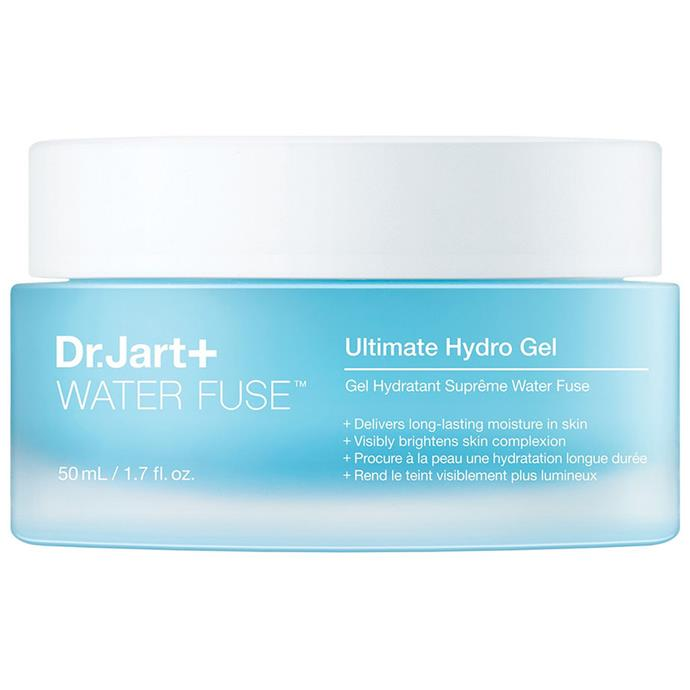 """***Dr. Jart+ Waterfuse Ultimate Hydro Gel Moisturiser***<bR><br> A brand that's famous for their face masks, now Dr. Jart+ imparts their technology into a jar as bright as the skin it promises to deliver.<bR><br> Moisturiser by Dr. Jart, $63 at [Sephora](https://www.sephora.com.au/products/dr-dot-jart-plus-water-fuse-ultimate-hydro-gel-moisturiser/v/default target=""""_blank"""" rel=""""nofollow"""")."""