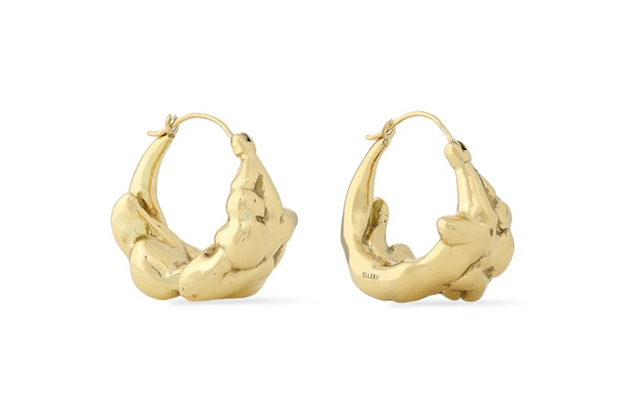 """These statement hoops will effortlessly elevate everyday looks without being too much. <br><br> Earrings by Ellery, $262 at [The Outnet](https://www.theoutnet.com/en-au/shop/product/earrings_cod9057334113460208.html#dept=INTL_Ellery_DESIGNERS
