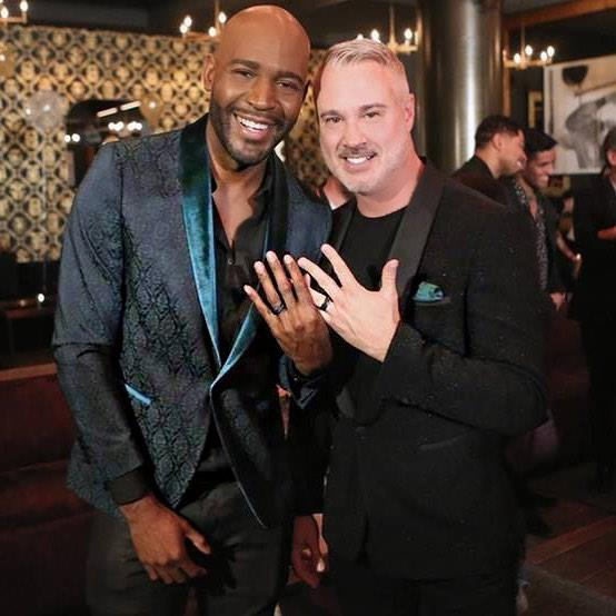 "They also recently upgraded their relationship status to ""engaged""! **Karamo** revealed the news on Instagram, writing, ""Last night, in front of family & friends, I asked my best friend and the love of my life, ""will you marry me?"" He said YESSS!!!! I'm engaged! Showing off our beautiful @davidyurmanmen rings. #LoveWins""."