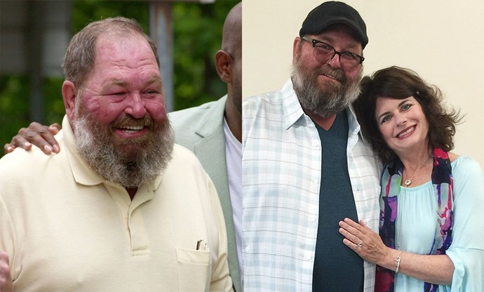 "***Season one, episode one: Tom***<br><br> Throughout his episode, ""You Can't Fix Ugly,"" the Fab Five helped Tom switch up his style, trim his unruly beard and win the love of his life, Abby, back!"