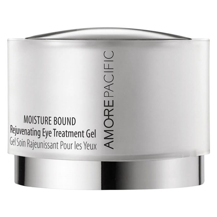 """**Amorepacific Moisture Bound Rejuvenating Eye Gel, $122 from [MECCA](https://www.mecca.com.au/amorepacific/moisture-bound-rejuvenating-eye-treatment-gel/I-033890.html