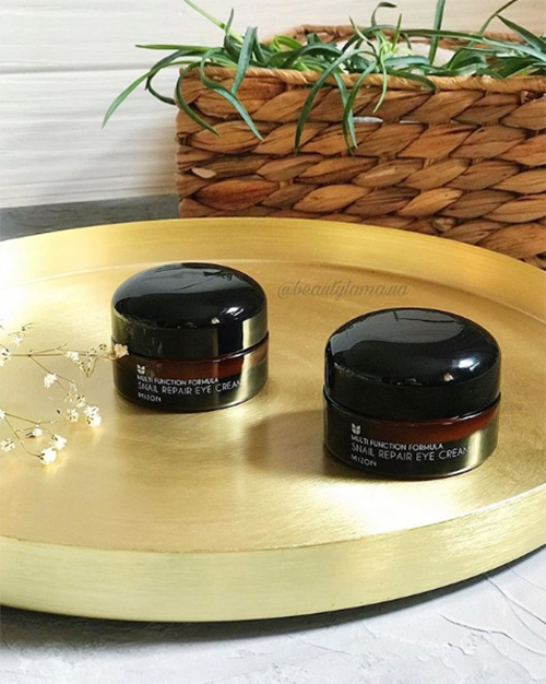 """**Mizon Snail Repair Eye Cream, $25 from [Nudie Glow](https://nudieglow.com/products/mizon-snail-repair-eye-cream