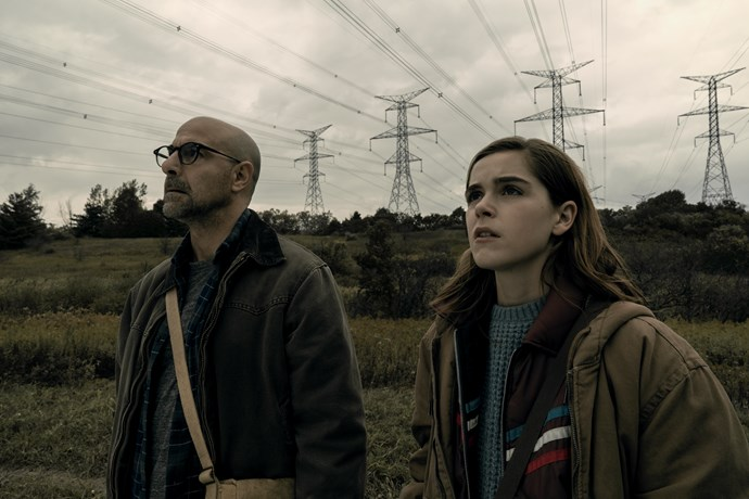 "***The Silence* (12/04/2019)** <br><br> ""When the world is under attack from terrifying creatures who hunt their human prey by sound, 16-year old Ally Andrews (Kiernan Shipka), who lost her hearing at 13, and her family seek refuge in a remote haven. But they discover a sinister cult who are eager to exploit Ally's heightened senses."""