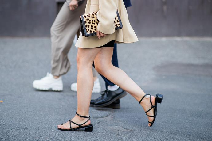 **BARELY-THERE SANDALS**