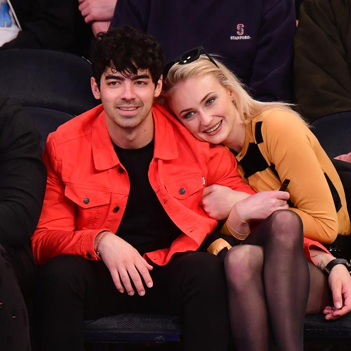 """***Sophie Turner & Joe Jonas*** <br><br> Even Jonas Brothers are guilty of the occasional DM slide. Sophie Turner revealed to *[Harper's BAZAAR UK](https://www.harpersbazaar.com/uk/fashion/fashion-news/a26959074/sophie-turner-may-cover/