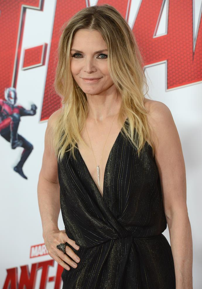 """**Michelle Pfeiffer**<br><br> Pfeiffer openly disclosed that she was once part of a 'cult' in 2013. Headed up by two personal trainers in Hollywood, the group practised 'breatharianism', the ability to go without food and water, with the belief that sunlight could provide everything the body needed.<br><br> """"They worked with weights and put people on diets. Their thing was vegetarianism,"""" Pfeiffer said in an interview with *[The Telegraph](https://www.telegraph.co.uk/news/picturegalleries/celebritynews/10422883/Michelle-Pfeiffer-The-day-I-realised-I-was-part-of-a-cult.html