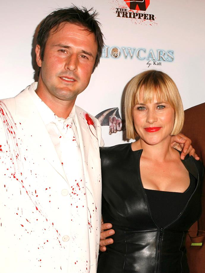 """**Patricia Arquette**<br><br> In addition to their siblings, actors David and Patricia Arquette were born into the 'Skymont Subud' commune in Virginia. Founded in 1920s Indonesia by 'prophet' Muhamad Subud Sumohadiwidjojo, the community lived without running water, bathrooms or electricity.<br><br>  The [group](http://www.subudvoice.net/whatissubud/about.html