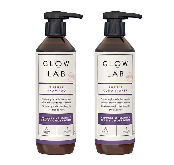 """[Glow Lab Purple Shampoo](https://www.woolworths.com.au/shop/productdetails/821335/glow-lab-purple-shampoo
