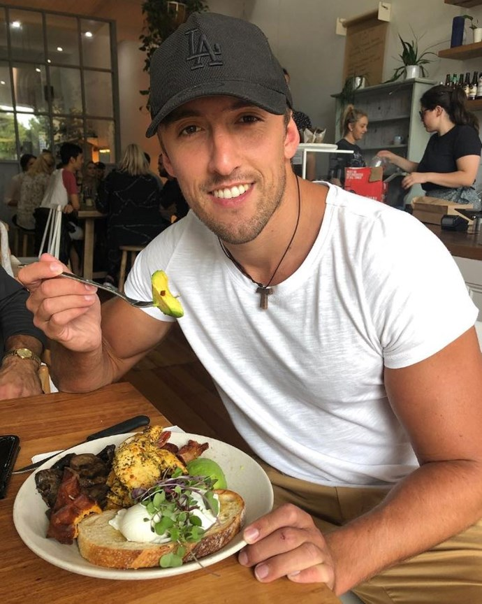 """**Ivan Krslovic, [@ivantheaussie](https://www.instagram.com/ivantheaussie/?hl=en target=""""_blank"""" rel=""""nofollow"""")** <br><br> Ivan, who was a contestant on Ali Oetjen's season of *The Bachelorette*, is a break-dancer whose memorable attempt to blend avocados with their skins and pits on made him something of a meme. He will be bringing those dubious cooking skills to Paradise."""
