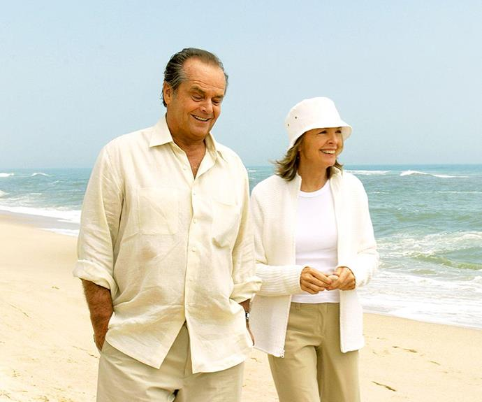 ***Something's Gotta Give:*** An ageing Casanova (Jack Nicholson) who typically dates younger women surprises himself when he falls for his girlfriend's middle-aged mother (Diane Keaton).