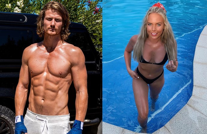 """**Richie Strahan and Cass Wood** <br><br> We know from his season as *The Bachelor* that Richie has a thing for blondes, and Cass seems like a perfect fit given they share the same active lifestyle. Cass is one of several women who admit Richie catches their eye in Paradise, with the Sydney-sider admitting in one trailer: """"I find him [Richie] pretty attractive""""."""