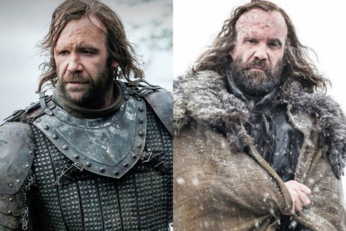 The Hound in season one, and in season seven.