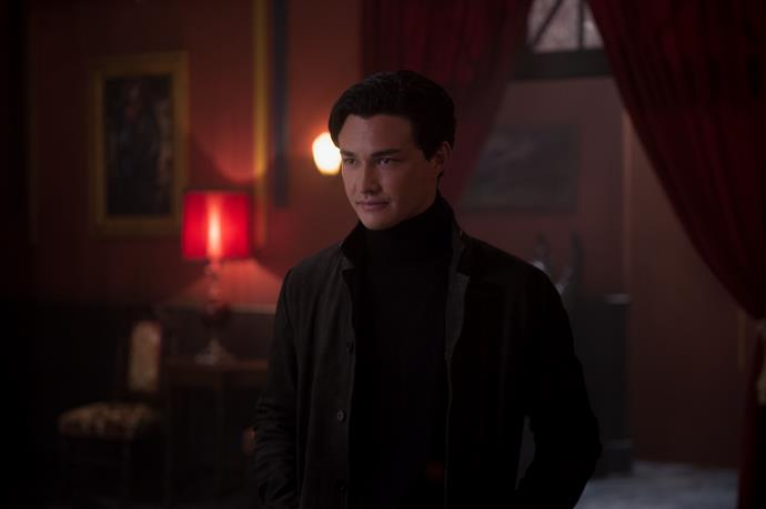 Gavin Leatherwood as Nicholas Scratch in *The Chilling Adventures of Sabrina*.