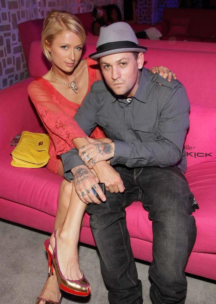 Paris Hilton and Benji Madden in 2006.
