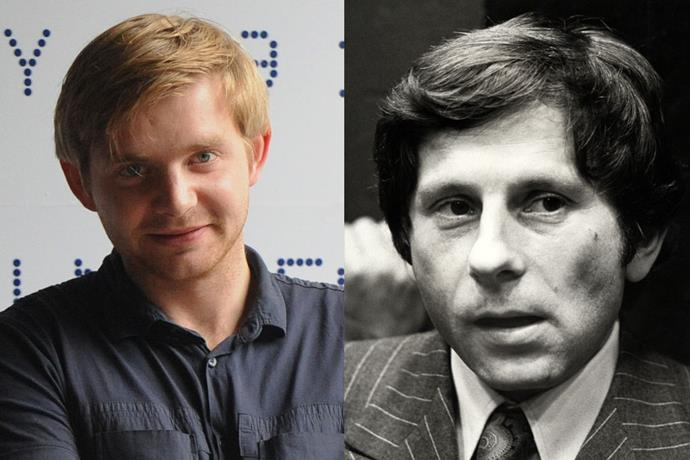 **Rafał Zawierucha as Roman Polanski**<br><br>  The director behind 1968's *Rosemary's Baby* met and fell in love with his wife on the film set of his horror parody *The Fearless Vampire Killers*. Polanski was in London on the night of his wife's murder.