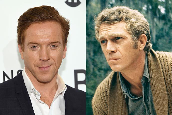 **Damian Lewis as Steve McQueen**<br><br>  A 1960s and 1970s cinema and style icon, McQueen was one of the biggest stars in Hollywood at the time. Thanks to his powerful position in the industry, he became a target for Manson, who always sought to recruit high profile celebrities.