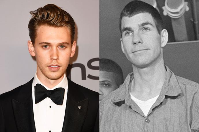 """**Austin Butler as Charles '""""Tex"""" Watson**<br><br>  A participant in Sharon Tate's 1969 murder, Watson absconded from the state but was ultimately convicted in a separate trial and remains in prison today."""
