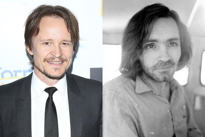 **Damon Herriman as Charles Manson**<br><br>  The mastermind behind the Tate murder and the leader of the 'cult' he called a 'family', Charles Manson was not actually present in the Polanski-Tate home at the time of the murder.