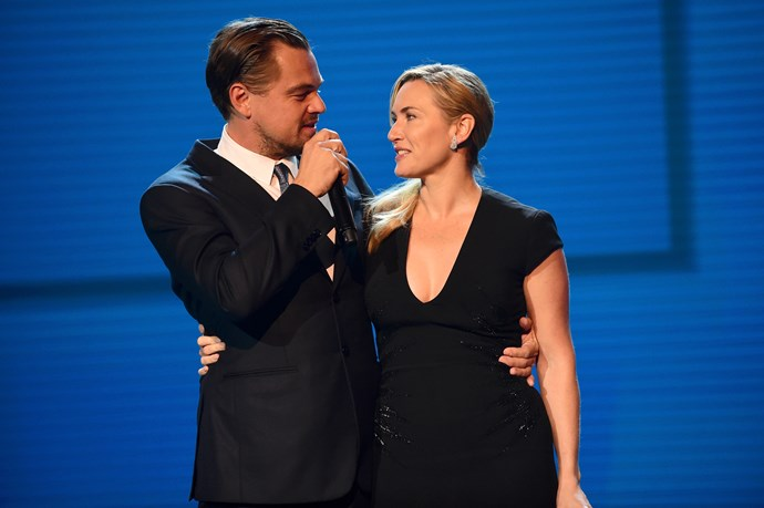 **Leonardo DiCaprio and Kate Winslet**<br><br>  Sure, these two didn't *technically* play best friends, however, there are some people that believe your true love is also your best friend so we're going to roll with it! Jack and Rose are besties today and that's all we'll ever need to forget the fact she could have fit him on the raft.