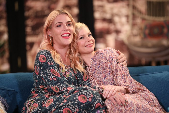"""**Busy Philipps and Michelle Williams**<br><br>  They played angsty teenagers on *Dawson's Creek*, but IRL they are nothing but love. """"I'm so in love with her,"""" Williams told *[People](https://go.redirectingat.com/?xs=1&id=1025X1480950&sref=https%3A%2F%2Fwww.vulture.com%2F2017%2F03%2Fmichelle-williams-busy-phillips-best-friends.html&url=http%3A%2F%2Fpeople.com%2Fmovies%2Fmichelle-williams-busy-philipps-manchester-by-the-sea%2F&xcust=__p_cizu46p7b0091w2yeziybl7dr__z_m__d_D